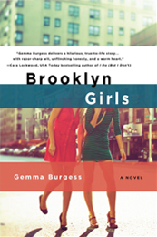 Brooklyn Girls book cover by Gemma Burgess