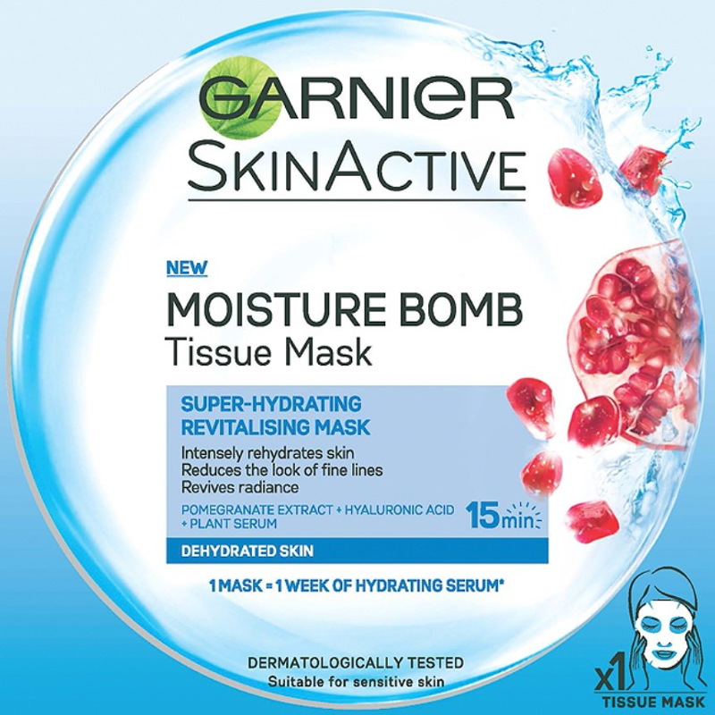 Image result for garnier moisture bomb mask